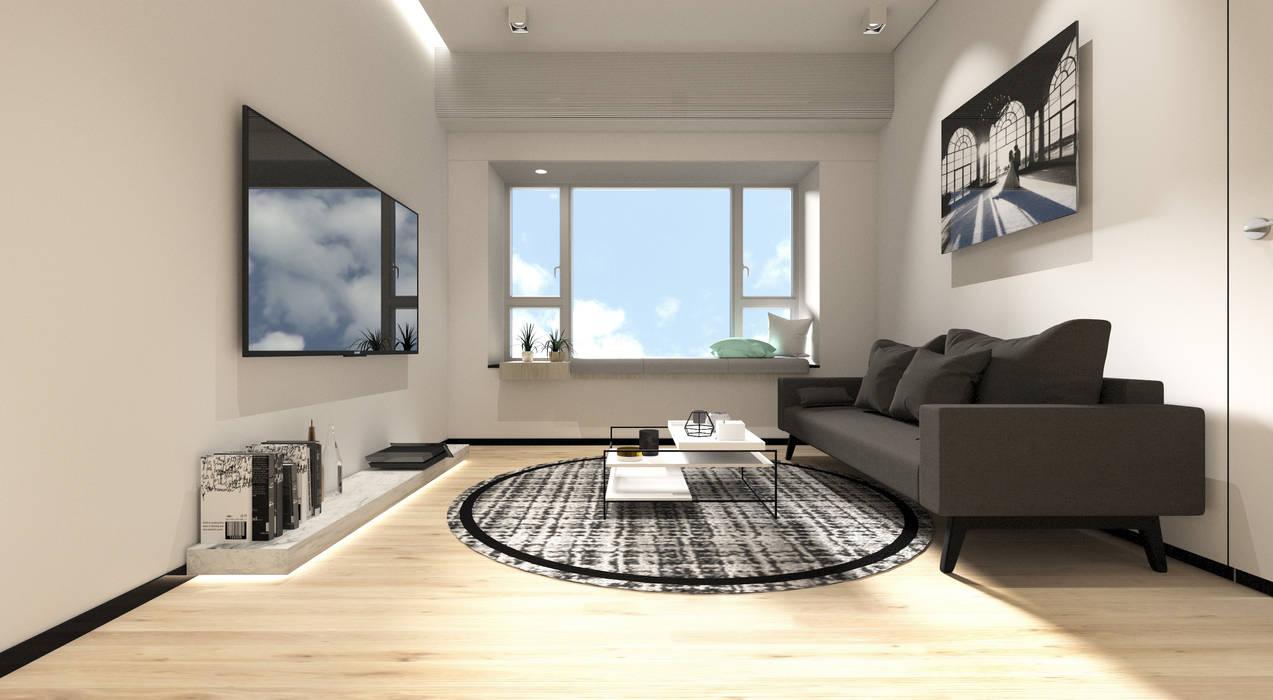 Sorrento Tower:  Living room by Artta Concept Studio