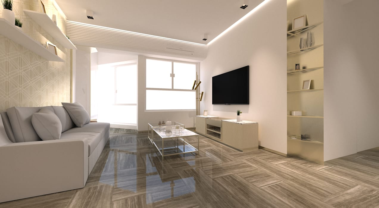 Regal Court Modern living room by Artta Concept Studio Modern