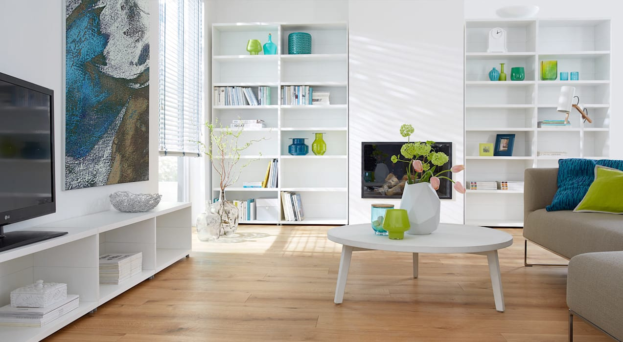 CASE - Bookcase Units:  Living room by Regalraum UK