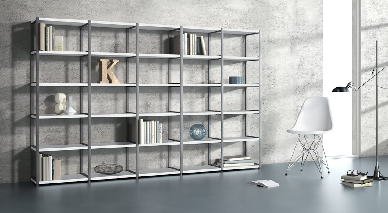 Maxx Open Shelving Units Living Room By Regalraum Uk Homify
