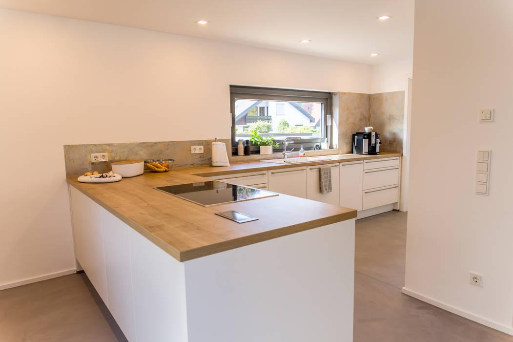 Offene und moderne küche moderne küchen von fh-architektur ...