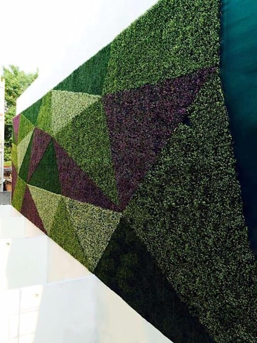 Artificial boxwood wall Country style event venues by Sunwing Industrial Co., Ltd. Country Plastic