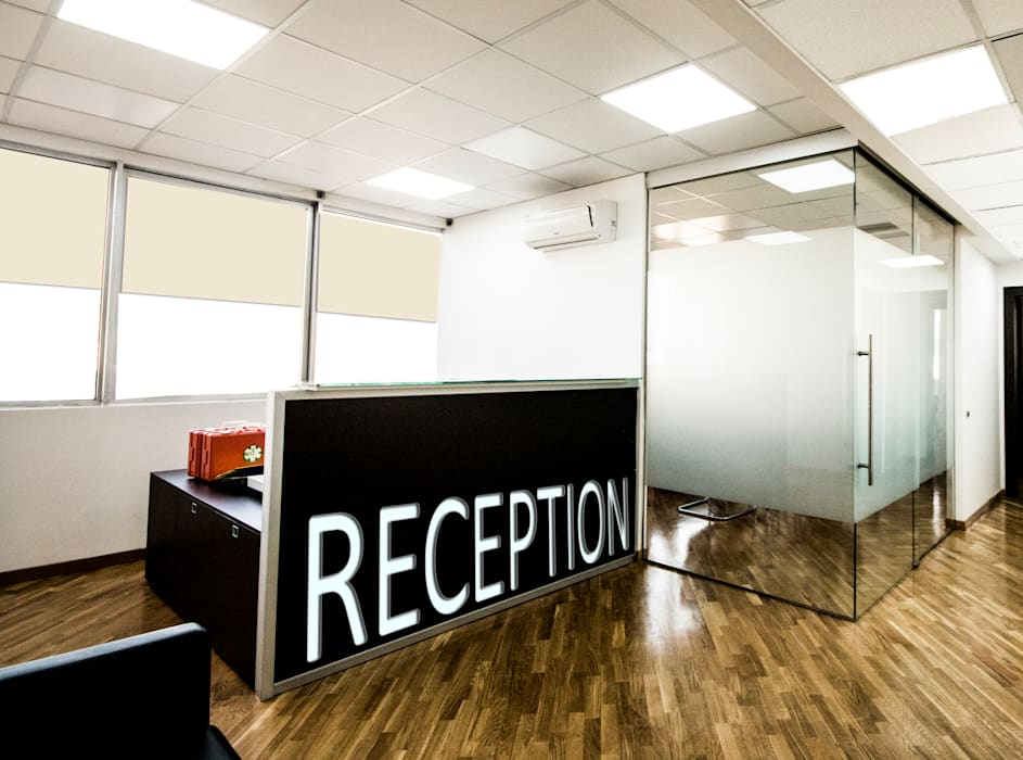 formatoa3 Studio Modern Study Room and Home Office White