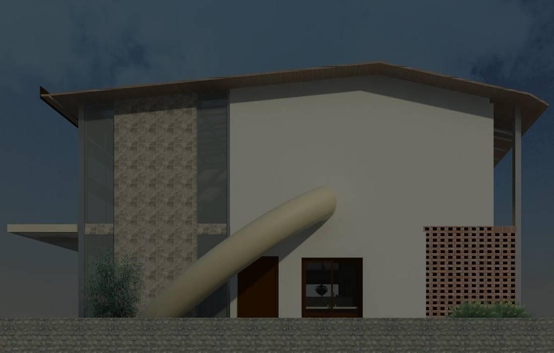 un lateral con tobogan Casas modernas de Diseño Store Moderno