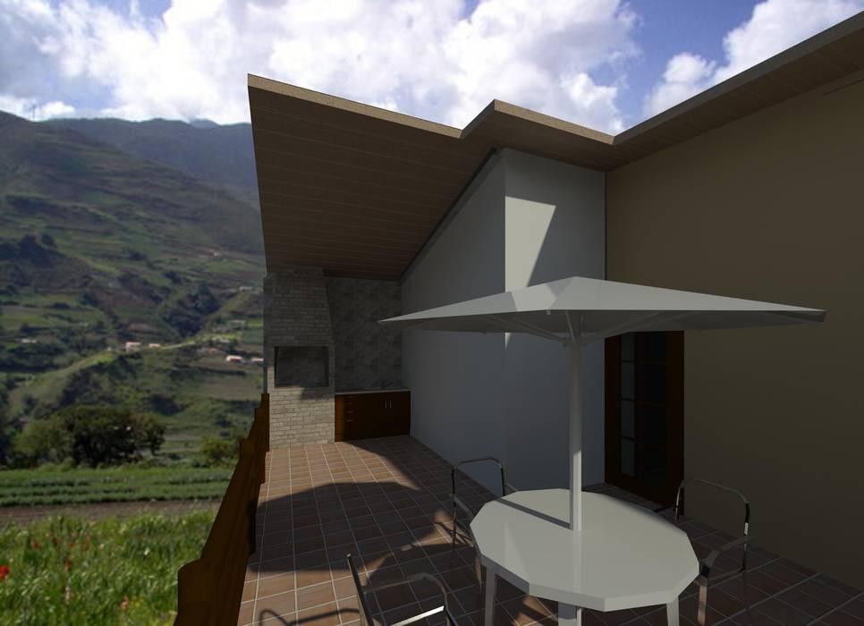 terraza Balcones y terrazas de estilo moderno de Diseño Store Moderno