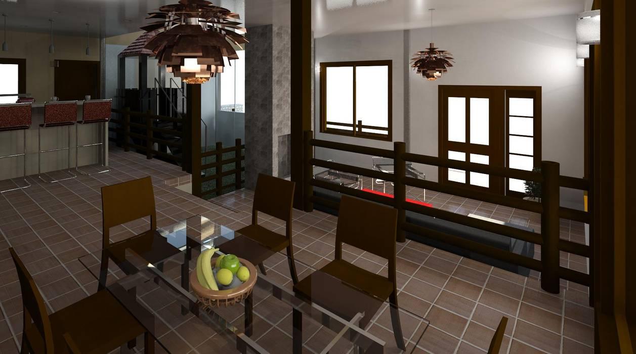 desde el comedor: Comedores de estilo  por Diseño Store, Moderno