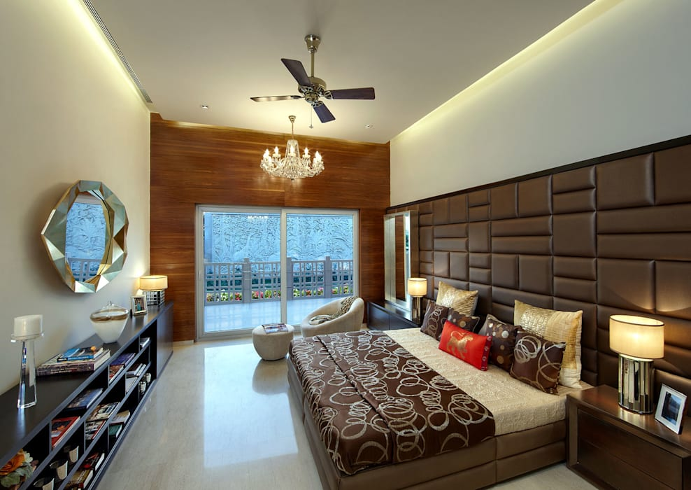 modern Bedroom by Evershine construction