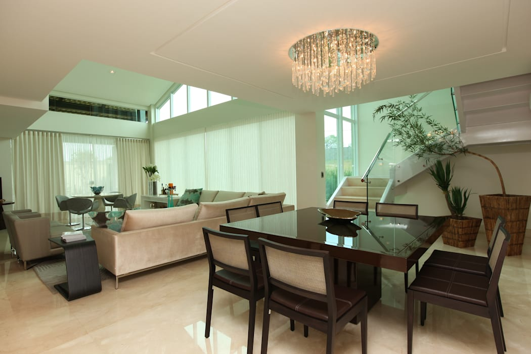 Modern Dining Room by Danielle Valente Arquitetura e Interiores Modern