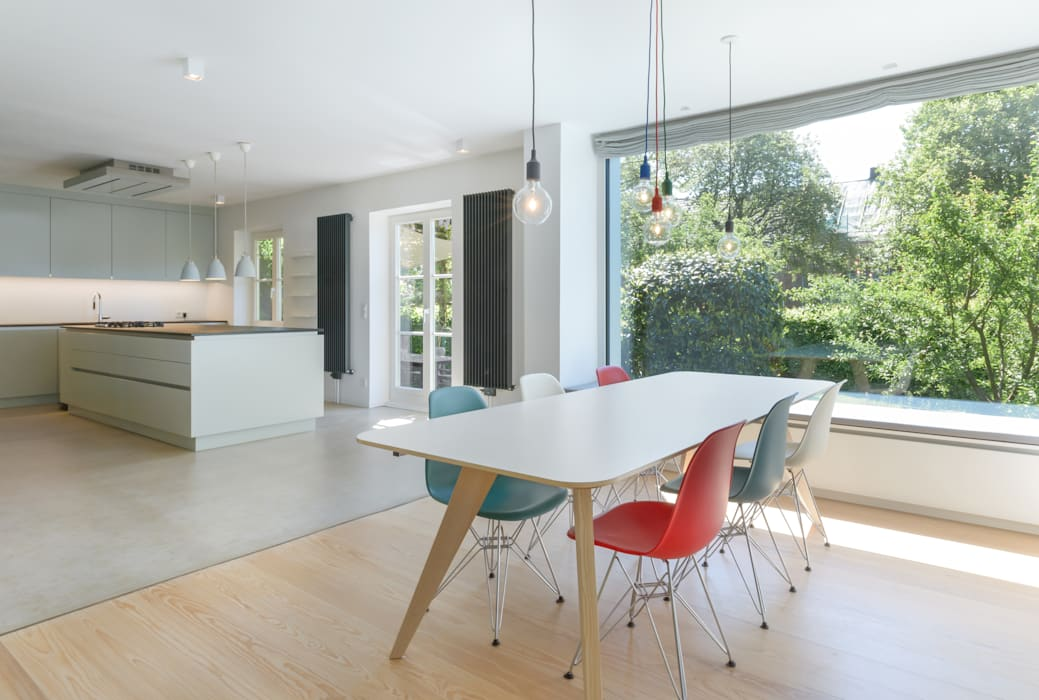 Esszimmer/ küche: esszimmer von sieckmann walther architekten | homify