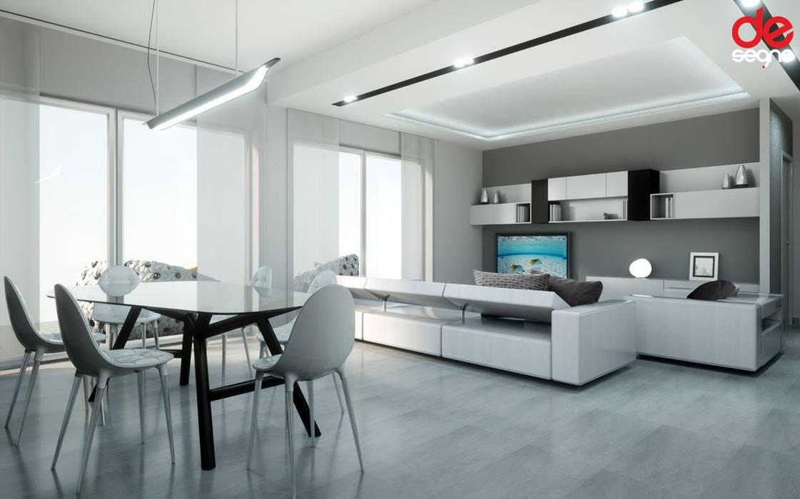Salas de estilo moderno de Emanuela Gallerani Architetto Moderno