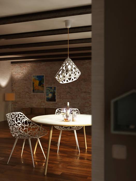 After work.: Soggiorno in stile in stile Scandinavo di MBquadro Architetti