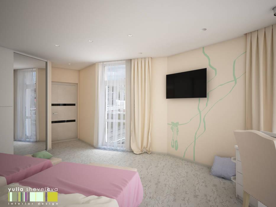 ЖИЗНЬ В РИТМЕ: Детские комнаты в . Автор – Мастерская интерьера Юлии Шевелевой
