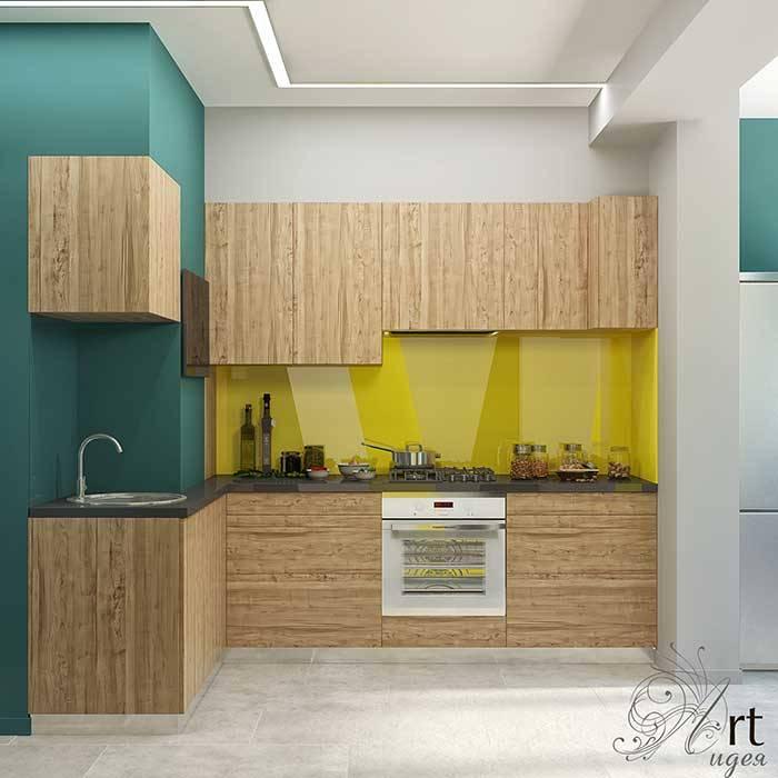 небольшая кухня в квартире: Кухни в . Автор – Арт-Идея