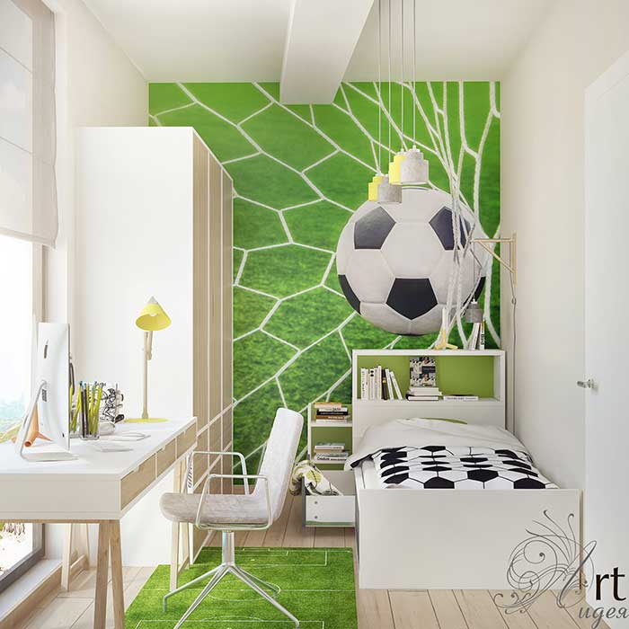Детская комната для мальчика: Детские комнаты в . Автор – Арт-Идея,