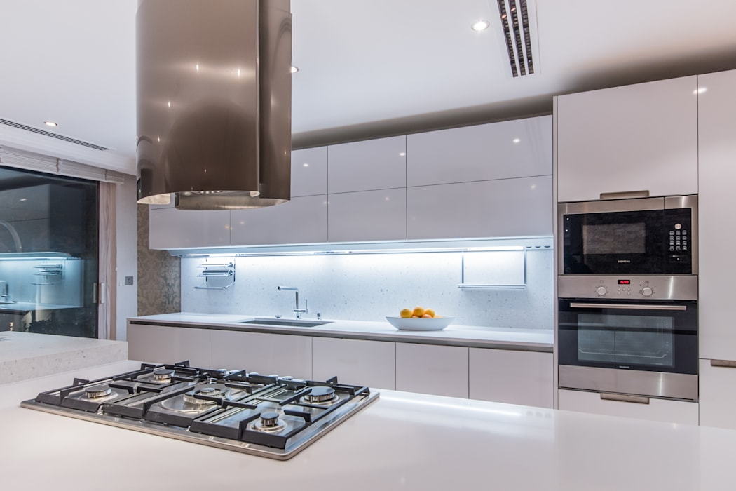 GK Kitchen Santos Unit dapur White