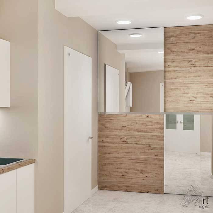 кухня белая-дизайн: Кухни в . Автор – Арт-Идея