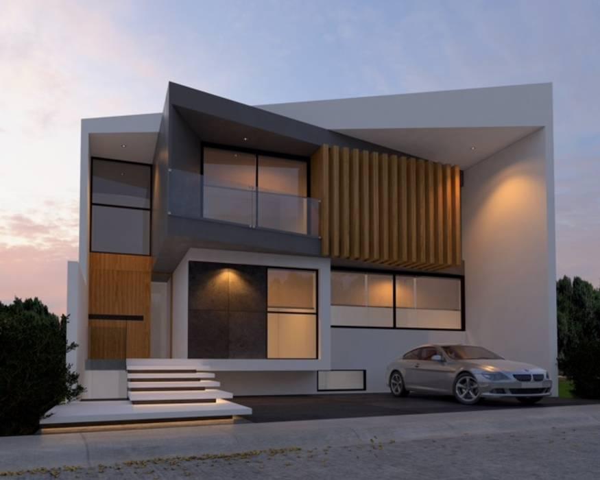 Residencia 1 Moderne Häuser von SYD CONSTRUCTORES Modern
