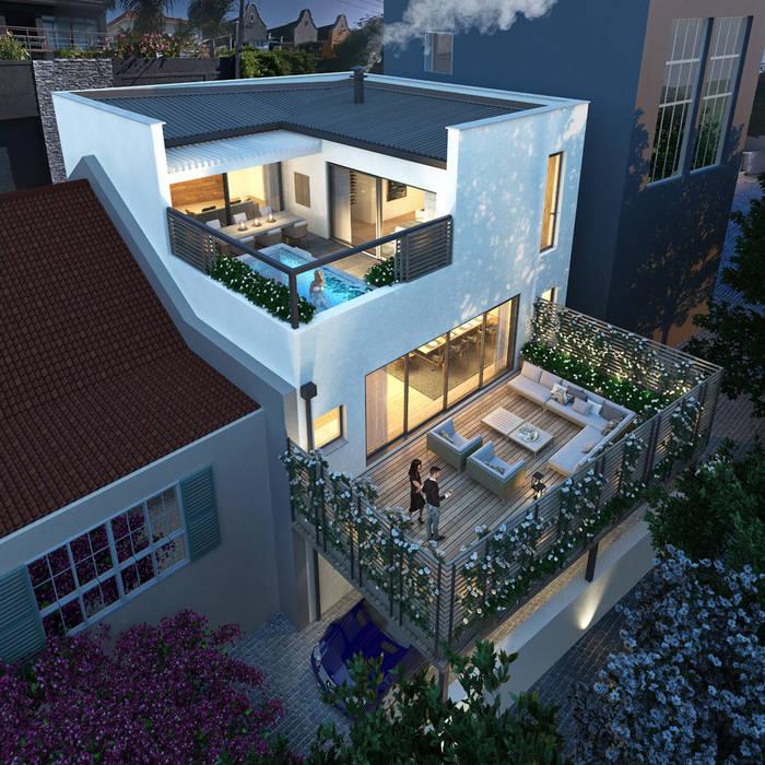 Kunst Architecture & Interiors Rumah tinggal Batu Bata White