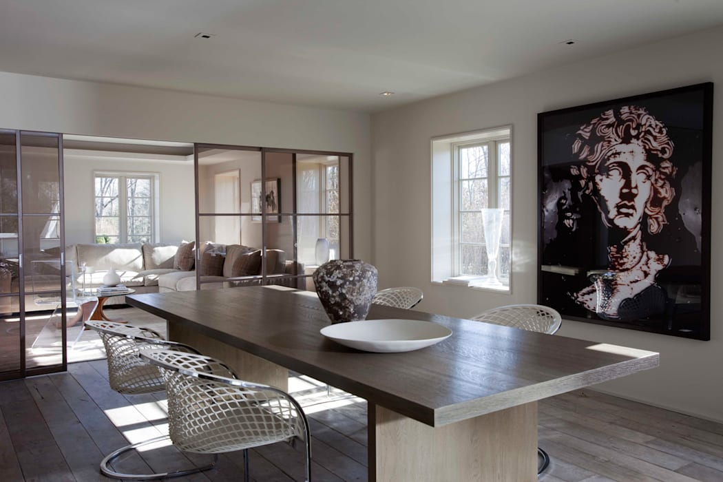 Plunkett Place Modern Dining Room by andretchelistcheffarchitects Modern