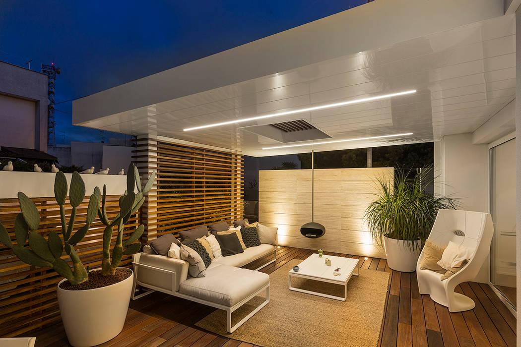 Giardino Dinverno In Casa : Restayling spazi esterni casa a schiera.: giardino dinverno in