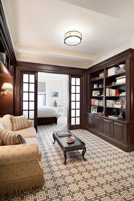 Fifth Avenue Apartment andretchelistcheffarchitects اتاق نشیمن