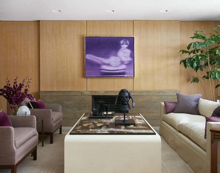 Salas de estar clássicas por andretchelistcheffarchitects Clássico