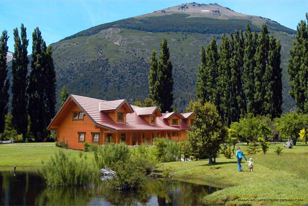 Finnscania Blockhausfabrik Log cabin Wood Brown