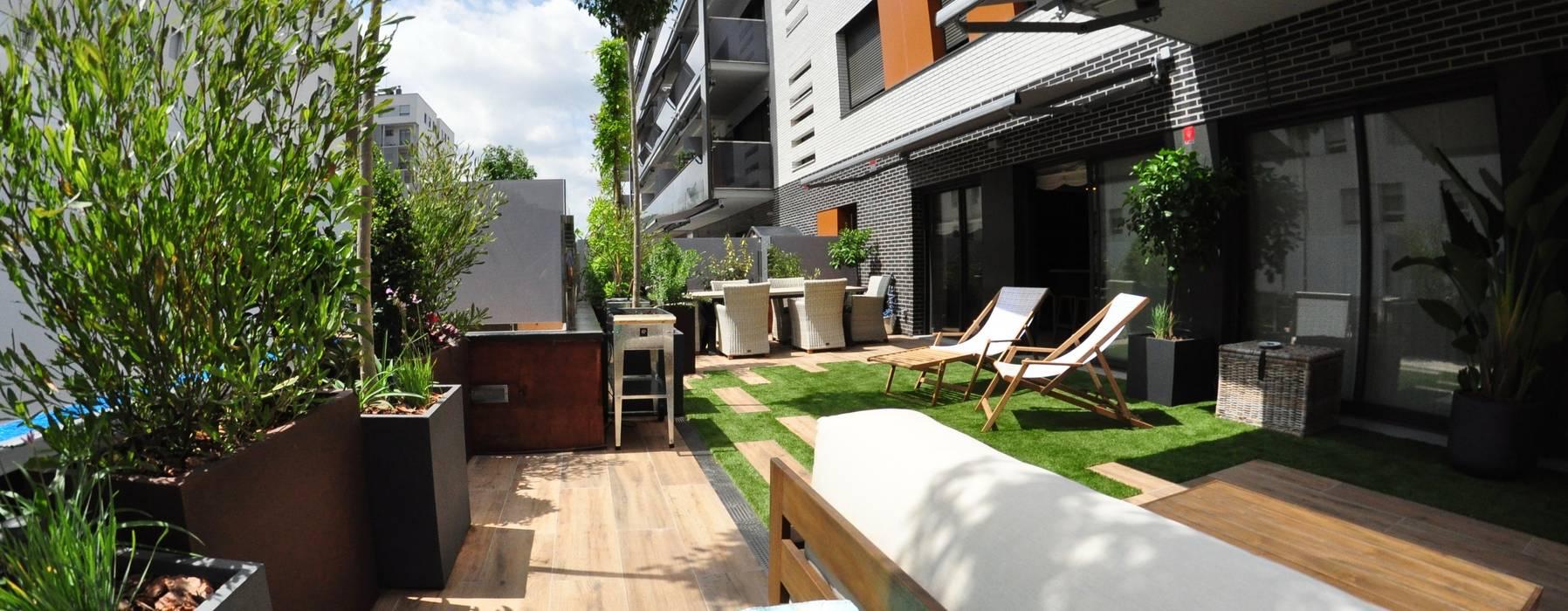 Diseño Y Construcción De Terraza Balcones Y Terrazas De