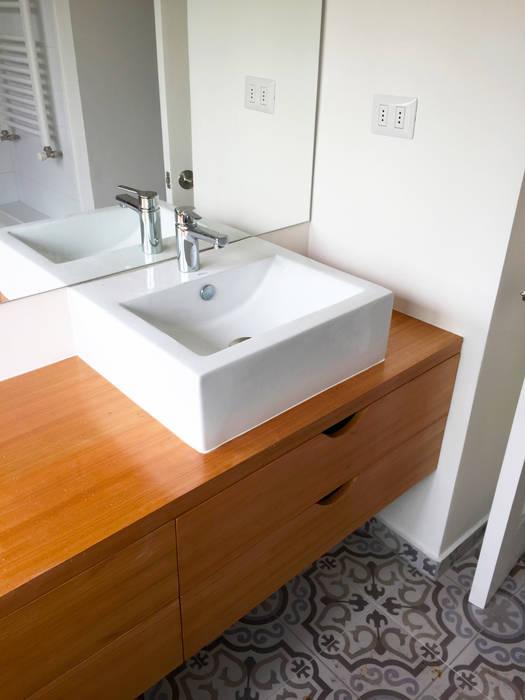 Remodelación Casa Matta: Baños de estilo  por ARCOP Arquitectura & Construcción, Moderno