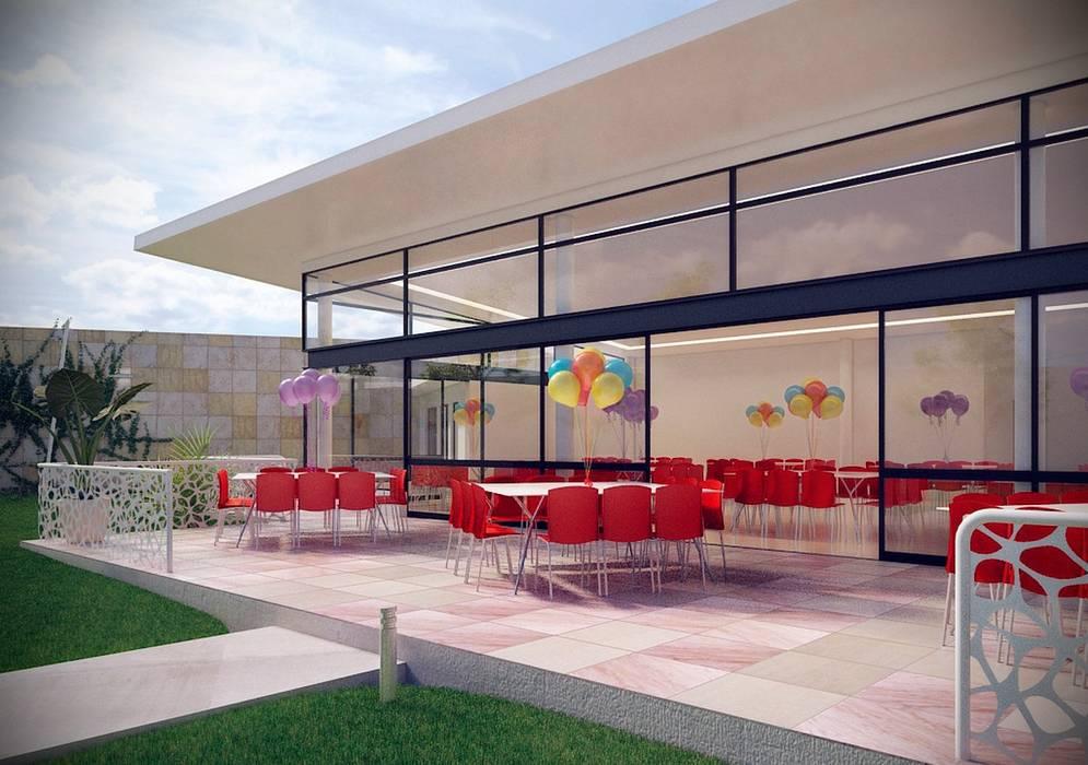Salón De Fiestas La Paz Terraza Para Juegos Locaciones