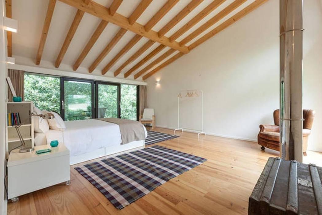 RUSTICASA Chambre moderne Bois Effet bois