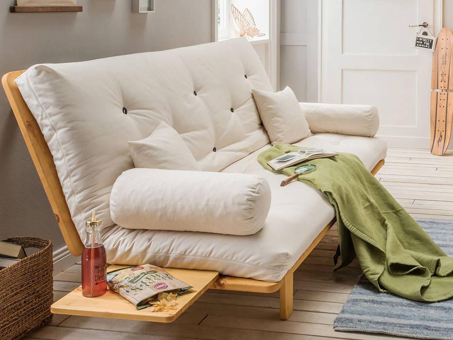 """Metallfreies futon-schlafsofa-system """"suma"""": modern von ..."""
