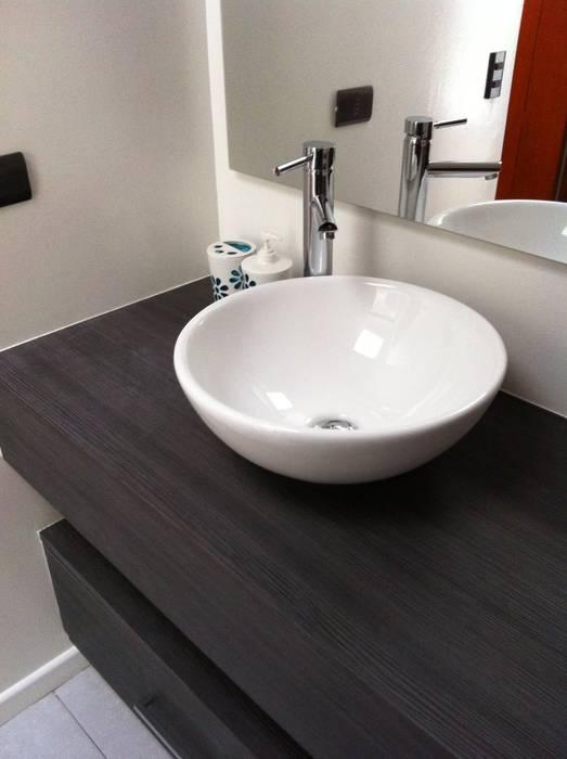 Remodelación Casa Lazo: Baños de estilo  por ARCOP Arquitectura & Construcción