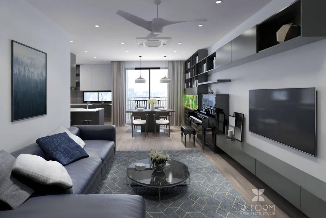 Livings modernos: Ideas, imágenes y decoración de Reform Architects Moderno