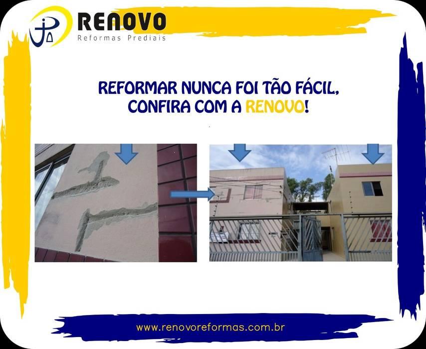 Klassische Einkaufscenter von Renovo Reformas Retrofit Fachada 3473-2000 em Belo Horizonte Klassisch Granit