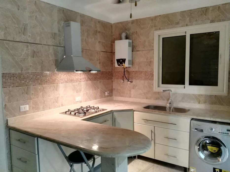 اضاءة مطبخ:  وحدات مطبخ تنفيذ TRK Architecture