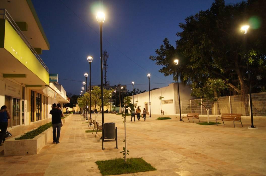 Espacios comerciales de estilo  por Arketzali Taller de Arquitectura