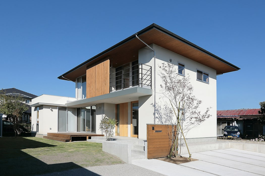 Eclectic style houses by TEKTON | テクトン建築設計事務所 Eclectic