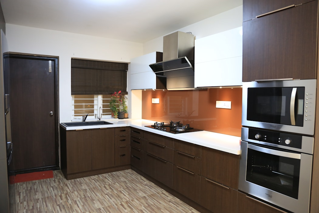 Modular Kitchen by homify Modern Plywood