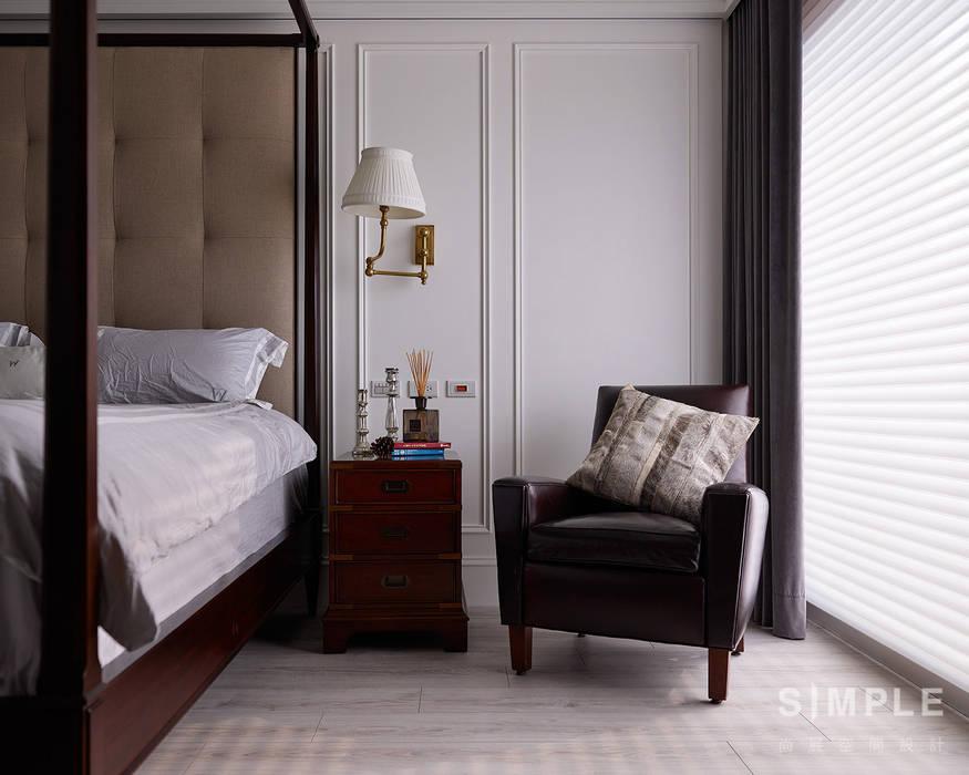 Schlafzimmer von 尚展空間設計