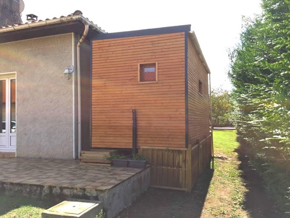 Extension Maison Jardin boheme Ecoles modernes