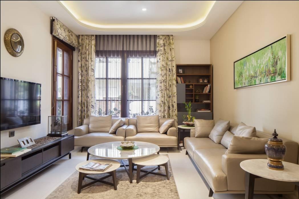 Aggarwal Residence groupDCA Modern living room