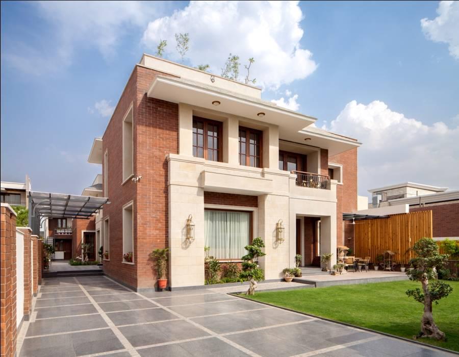 Aggarwal Residence groupDCA Modern houses