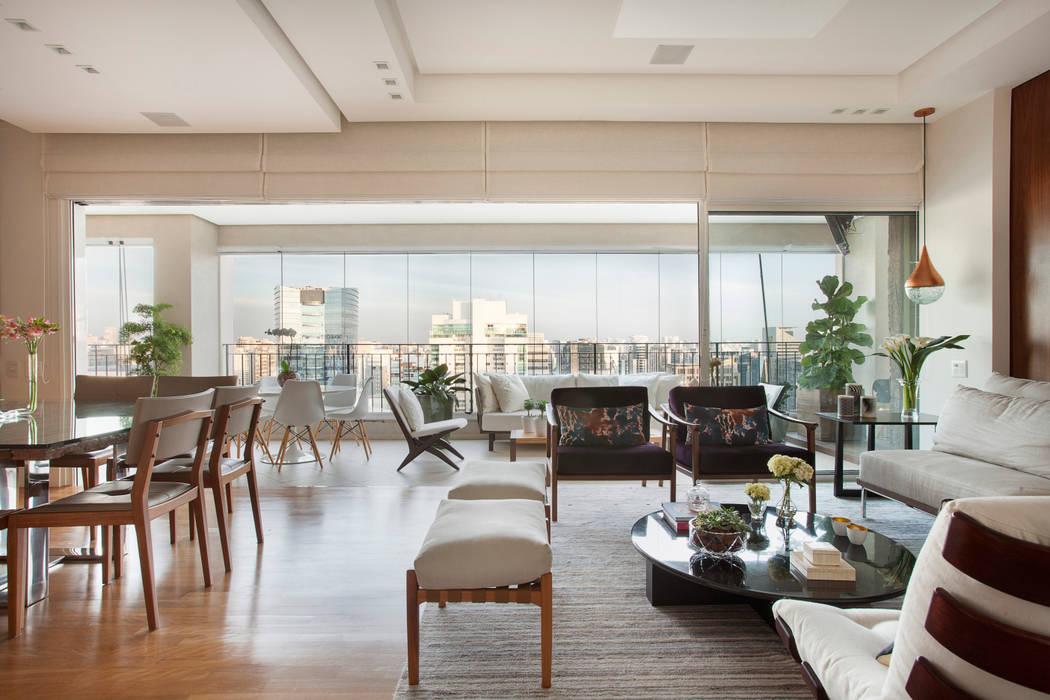Modern Terrace by andrea carla dinelli arquitetura Modern