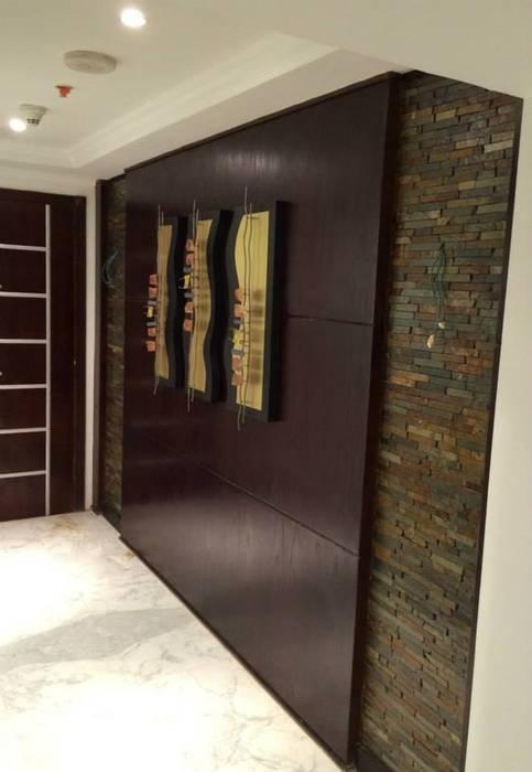 جدارية المدخل :  جدران تنفيذ Quattro designs