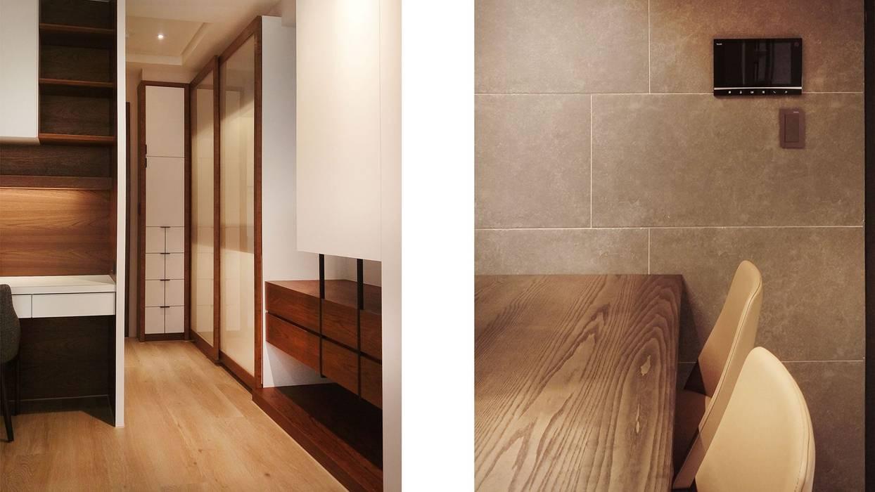 端景:  更衣室 by 見和空間設計