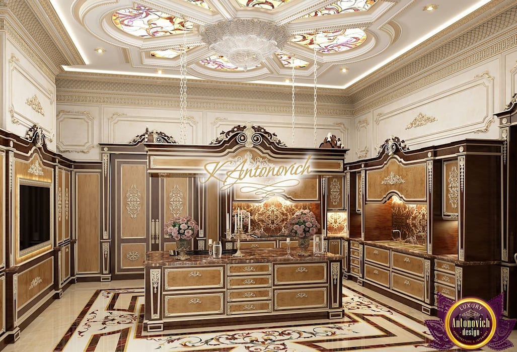 Kitchen Design Usa By Katrina Antonovich: Luxury And Functionality In The Kitchen Interior From