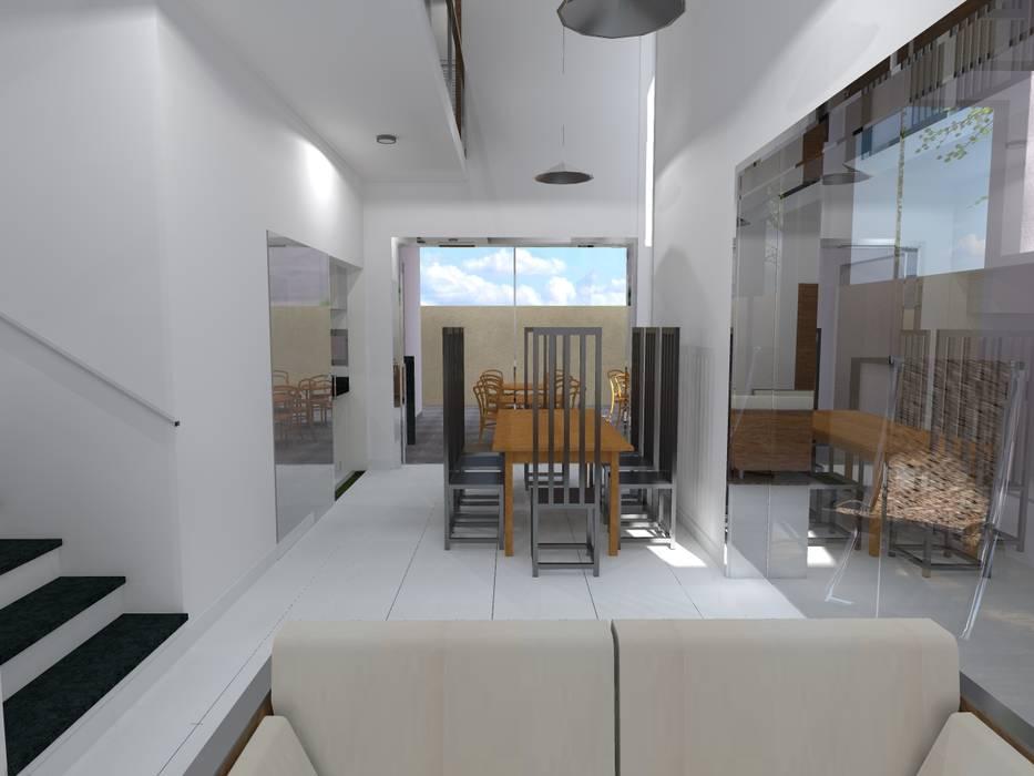 Phòng ăn theo João Paulo Gomes Arquitetura,