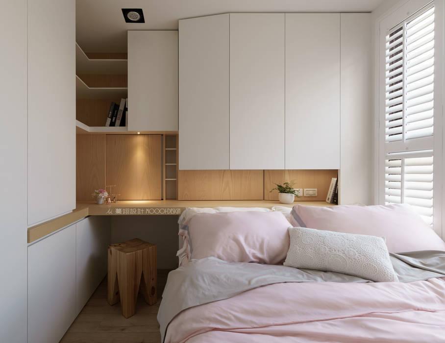 臥房 根據 Moooi Design 驀翊設計 北歐風