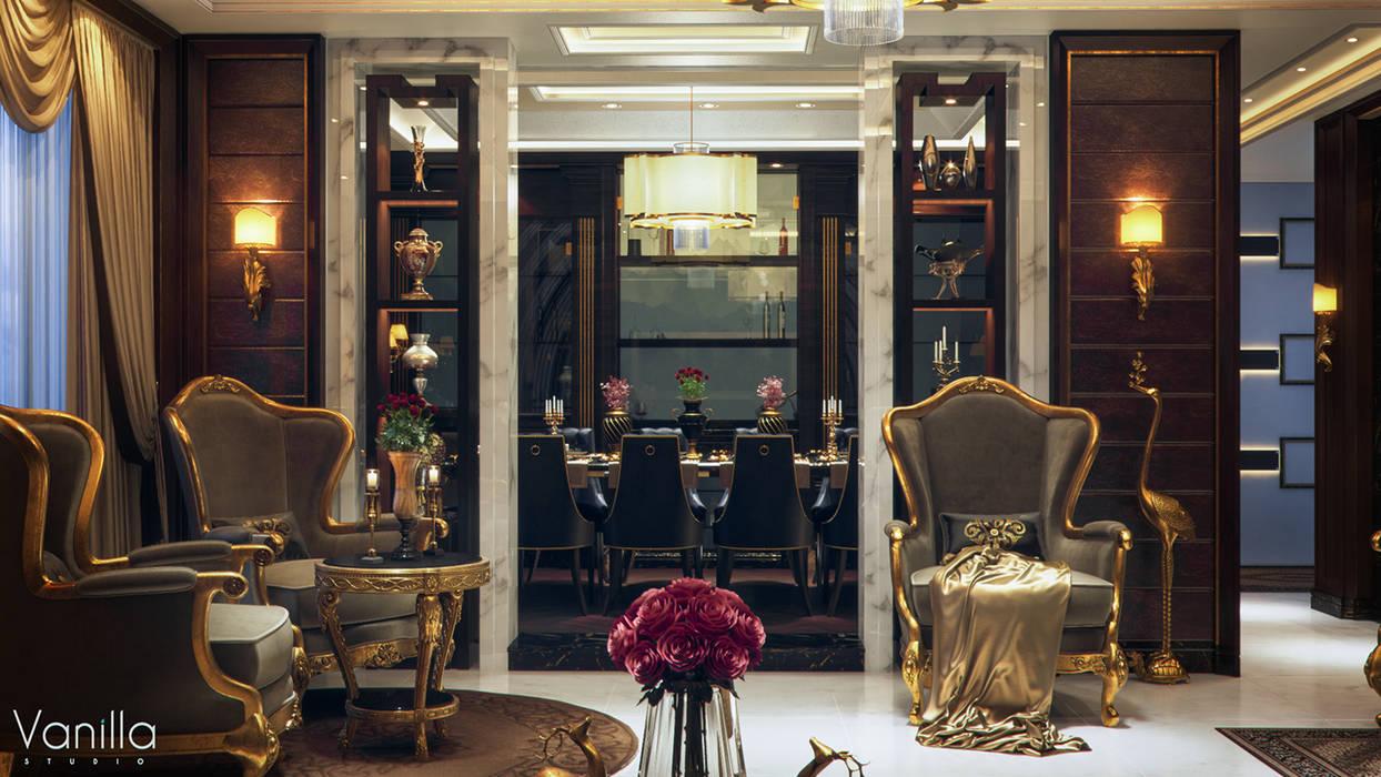 Sala da pranzo in stile classico di Vanilla Studio Classico
